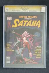 Marvel Preview 7 Cgc 7.5 Stan Lee Ss 1st Rocket Raccoon Guardians Of Galaxy 1