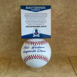 Mike Andrews Impossible Dream Red Sox Signed Auto M.l. Baseball Beckett Aa45372