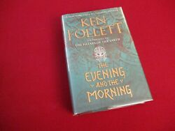 The Evening and the Morning by Ken Follett 2020 Pillars of the Earth Prequel $20.00