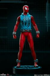 1/10th Sideshow × Pcs 906308 Spider-man Scarlet Spider Comics Male Figure Toys