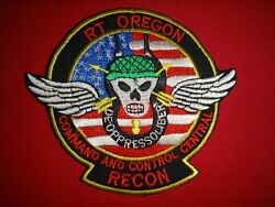 Vietnam War Patch Rt Oregon Command And Control Central Ccc Us 5th Sfgrp Macv-sog