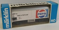 Marklin H0 4533 Have A Pepsi Day Freight Car Wagon Boxed