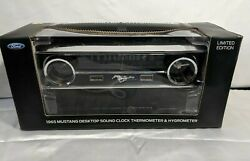 1965 Mustang Clock Thermometer And Hygrometer New Open Box.