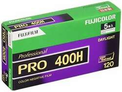 [50roll] Fujifilm Pro 400h 50roll 120 Format Color Negative Film From Japan