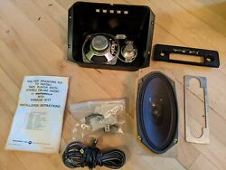 Porsche 911 912 1965-1975 Front Dash And Rear Speakers Kit Nos New Old Stock
