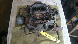 Rochester 4jet Carburetor 702-0955 59-64 Olds Bb Was On 394ci Rocket,auto Tran