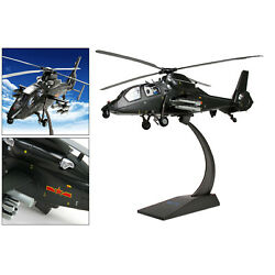 130 Scale Metal Z-19 Helicopter Aircraft Plane Display Kids Toys Keepsake
