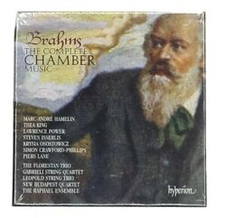The Complete Chamber Music Brahms 12 Cds Box Set Hyperion Import England Sealed