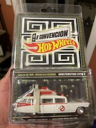 Ghostbusters Ecto-1 Glow In The Dark Hot Wheels Convention 2015 Mexico Exclusive