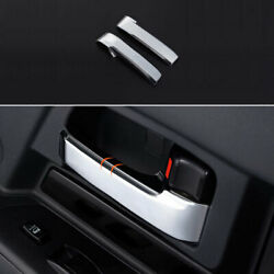 Abs Chrome Inner Door Handle Cover Trim Fit For Toyota Fj Cruiser 2007-2013 2014