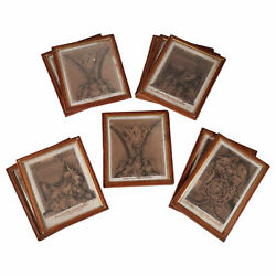 Empire Frames With Pear Prints - 19th Century Italy