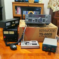 Kenwood Ts-680s 100w Hf Transceiver Vintage From Japan Rare