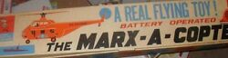 Display Box For Marx Sikorsky Giant Flying Military Helicopter Toy Box Only