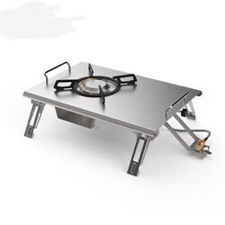 Outdoor Portable Folding Gas Stove Camping Stainless Steel 2.2kg Cooking Stoves