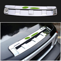 Chrome Front Bumper Lower Grill Grille Strip 1x For Toyota Fj Cruiser 2007-2014