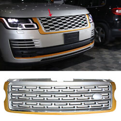 For Range Rover L405 2013-2020 Golden Front Center Mesh Grille Grill Replacement