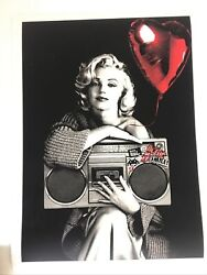 Mr Brainwash Happy Birthday To Me Marilyn Monroe Signed Numbered Sold Out