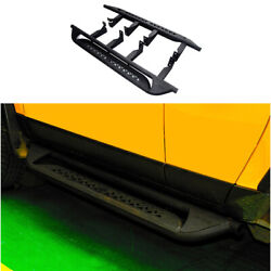Steel Black Running Board Side Pedals Foot Pedal For Toyota Fj Cruiser 2007-2014