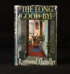 1953 The Long Good-bye Raymond Chandler First Edition Dustwrapper