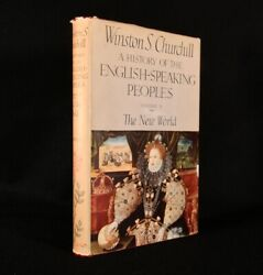 1956 A History Of The English-speaking Peoples Winston Churchill 1st