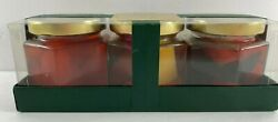 Nos White Barn Mixed Fruit Strawberry Raspberry 3 Pack Nature's Preserve Candle