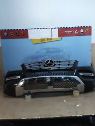 2012 2013 2014 2015 Mercedes Benz Ml 550 Front Bumper Complete Oem Used