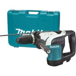 Makita Corded Rotary Hammer Drill W Side Handle Hard Case 1-9/16 Sds Max 10 Amp