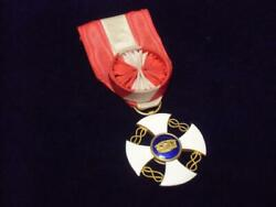 Military Items Italian Army Order Of The Crown Officer Class Medal Made Of Gold