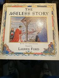 The Ageless Story By Lauren Ford- First Edition Second Printing 1939-dustjacket
