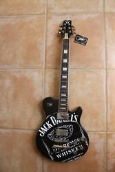 New Jack Daniels Whiskey Guitar Peavey Tennessee Old No. 7 Black And White Rare