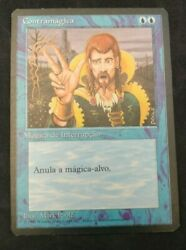 Mtg Magic The Gathering Counterspell Fourth Edition Portuguese 4bb Lp
