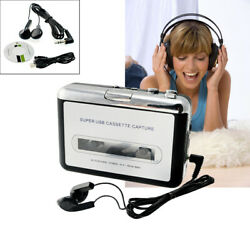 Usb Cassette Tape To Mp3 Ipod Cd File Converter Capture Audio Music Player