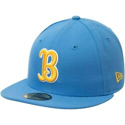 Ucla Bruins New Era Ncaa Basic 59fifty Gcp Fitted Hat - Light Blue