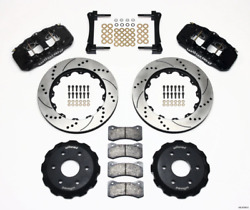 Wilwood Aero6 Front Truck Kit 14.25in Drilled 1999-2014 For Gm Truck/suv 1500 1