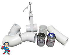Dynasty Bahama Hot Tub 2 45anddeg Pump Union Plumbing Connect Glue Kit How To Video