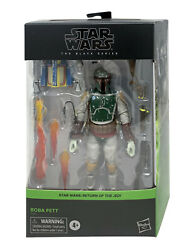 Hasbro Star Wars The Black Series Boba Fett Deluxe 6-inch Action Figure In Stock