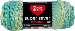 Red Heart Super Saver Ombre Yarn Seaside 073650034879