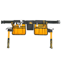 Ingco Electrician Tool Belt Pouch Work Apron Tool Bag Construction Heavy Duty