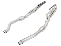 Afe Twisted Steel Headers W/ Cats 12-14 For Jeep Grand Cherokee Srt/srt-8 6.4l V
