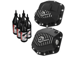 Afe Pro Series Front And Rear Diff Cover Kit W/ Oil 2018+ For Jeep Wrangler Jl