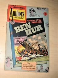 Famous Authors Illustrated 11 Ben Hur By General Lew Wallace - 1950