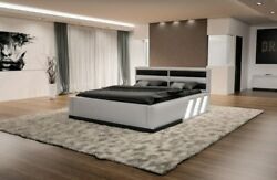 Waterbed Complete Bed Set Luxury Apollonia Led Lighting Dual Hotel Bed