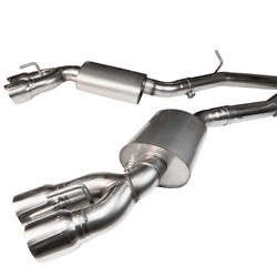 Kooks 2016+ For Chevrolet Camaro Ss Lt1 6.2l 3in Exhaust W/ Oval Race Mufflers 4