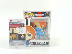 Child's Play Signed Autographed Funko Pop Ed Gale Jsa Certified Childs Play