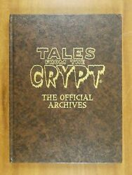 Tales From The Crypt The Official Archives Leather Hc Limited To 500 Brown