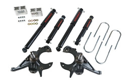 Front And Rear Complete Kit W/ Nitro Drop 2 Shocks 614nd