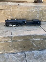 American Flyer 21160 Reading Lines 4-4-2 Steam Engine And Tender Untested