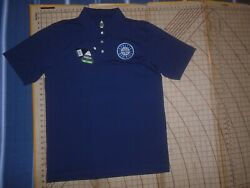 Mens Large Blue Bolle Mariners Adorned Polo Shirt - Nwt