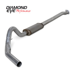 Diamond Eye Kit 3 1/2in Cb Sgl Gas Ss For Ford 3.5l For F150 Eco-boost 11-13 K3
