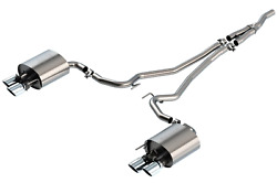 Borla 19-20 For Ford Mustang Ecoboost 2.3l 2.25in S-type Exhaust W/ Valves 1408